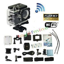 New SJ4000 Full HD 1080P 12MP voiture Cam Sport DV Action Camera Waterproof Noir