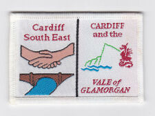 UK / BRITISH SCOUTS - WALES CARDIFF & THE VALE OF GLAMORGAN SOUTH E SCOUT PATCH
