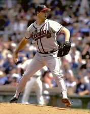 The Professor GREG MADDUX 8x10 ACTION PHOTO @ Wrigley ATLANTA BRAVES Cooperstown