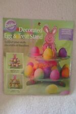 Wilton Easter Bunny Treat & Egg Stand 2-Tier Cupcakes Stand New 307-130