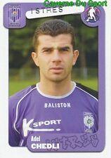 117 ADEL CHEDLI TUNISIA FC.ISTRES FC.SION STICKER FOOT 2005 PANINI