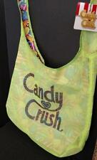 Candy Crush Green Neon Mesh Shopping Tote Beach Pool Locker Bag licensed