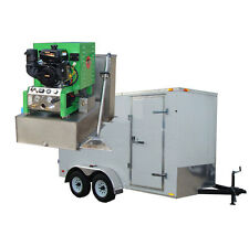 New 14HP Carpet, Tile, & Air Duct Cleaning Equipment Machine Cleaner Trailer Pkg