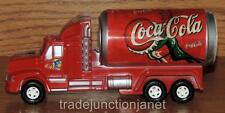 "NOS No 2376 COCA-COLA PLASTIC FRICTION ""COKE SODA CAN"" TANK TRUCK 7.5"" LONG"