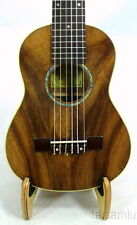 Alulu Solid Acacia Koa Baritone Guitarlele,natural grain,hard case,HUA410F