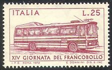 Italy 1972 Stamp Day/Postal Coach/Mail/Bus/Transport/Motoring/Motors 1v (n23801)