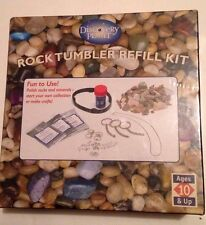 New/Sealed Discovery Planet Rock Tumbler REFILL Kit Item 36925 Age 10+