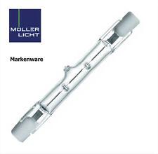 10x Müller-Licht Halogenstab Halogen Strahler 80W (100W) 78,3mm R7s 230V 15701