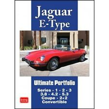 Jaguar E-Type Ultimate Portfolio book paper