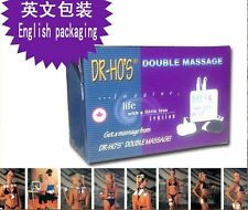 DR HO'S Dual Double Muscle Massage Therapy System Pain Relieve Stimulator SALE