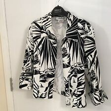 JOSEPH RIBKOFF STRETCH COTTON JACKET. SIZE 10