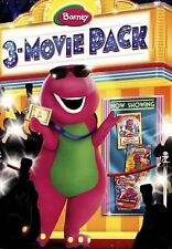 Barney & Friends 3-Movie Pack BRAND NEW (SEALED)