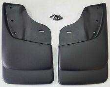 HUSKY LINERS Mud Flap Guards For Chevy S10 & Sonoma w/ ZR2 / Highrider (Front)