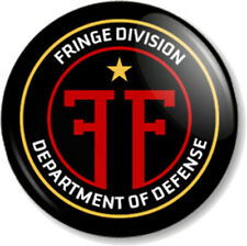"Fringe Division 25mm 1"" Pin Button Badge TV Series Sci-Fi FBI Emblem Crest Logo"