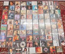 LG Estate LOT of 98 Music CD's Modern Country Hits, Classic Rock Popular Artists