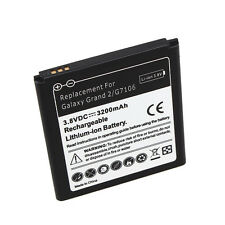 High Quality 3200mAh Replacement Li-ion Battery For SamSung Galaxy Grand 2 G7106