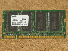 Samsung Memory SO DIMM 200 PIN SDRAM 256MB DDR PC2100S 266MHz CL2.5