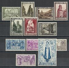 Belgium stamps 1933 YV 363-374  MLH  VF