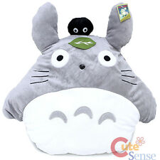 My Neighbor Totoro Plush Cushion Pillow with Dust Bunny Soot Sprite -20""