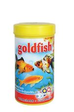 Aquarium Tank Goldfish Flake Food for Coldwater / Freshwater Fish - 100 ml