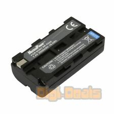 Camera Battery For Sony NPF550 Battery CyberShot CCD-TR87 DCR-TRV7 MVC-FD200