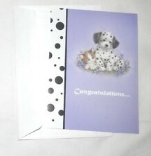 "NEW CONGRATULATIONS GREETING CARD ""NEW PET"" FREE SHIPPING!"