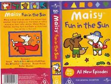 MAISY FUN IN THE SUN  VHS VIDEO PAL~ A RARE FIND IN EXCELLENT CONDITION