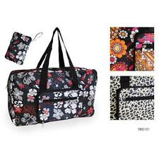 KS Brands BB0121 Spacious Foldable Printed Travel Bag Assorted Designs - New