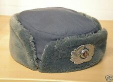"East German (DDR) Female Winter 'Fur' Field Hat {USHANKA}-Mint-""MdI"" marked-VoPo"