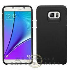 Samsung Galaxy Note 5 Advanced Armor Case - Black/Black Cover Shell Protector