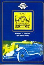 RAC RALLY 1982-1997 - recensioni, risultati + + - molto utile BOOK