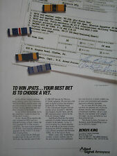 11/1991 PUB ALLIED SIGNAL BENDIX KING JPATS EFIS PC-9 T-38 VC-25A C-20B C-26A AD