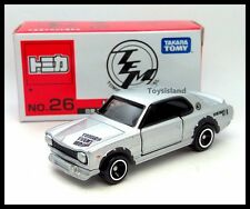 TOMICA 2016 EVENT MODEL 26 NISSAN SKYLINE 2000GT-R RACINT H.T 1/62 TOMY SILVER