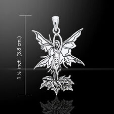 Fairy .925 Sterling Silver Pendant by Peter Stone