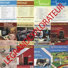 Ultimate Kilobaud Microcomputing Computer Magazine Collection (Pdfs manuals DVD)