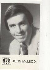 John McLeod Plain Back ATV Publicity Card 571a