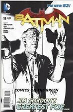 DC NEW 52 BATMAN #19 + MAD + COMBO + 1:100 SKETCH VARIANT COVER!