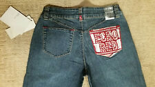 Brand NWT!($72) Ecko Red Embroidered Tile Jeans Size 5 Same As Mall For Less