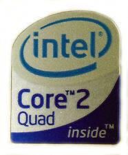 INTEL CORE 2 QUAD STICKER LOGO AUFKLEBER 16x20mm (124)