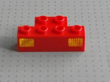 Lego Electric - Red 1 x 4 Stud Prism and Holder- Train Lights - (2928 2919)