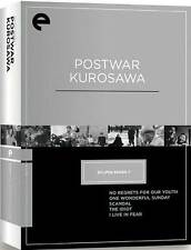CRITERION COLLECTION: POSTWAR KUROSAWA BOX (5PC) - DVD - Region 1 - Sealed