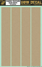 532050 HGW Decal - CANVAS - Fabric texture (base white)