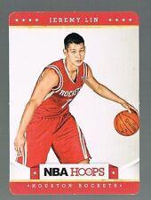2012/13 panini NBA HOOPS Taco Bell JEREMY LIN #34 rockets / Harvard
