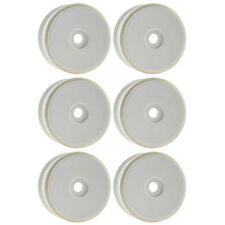 OFNA Racing 1/8 Scale Off-Road Buggy R/C White Dish Wheels (6) 86040