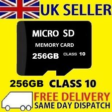 256GB Micro SD Card Class 10 TF Flash Memory SDHC SDXC - 256G - NEW UK