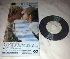 "CD THE TEMPTATIONS - MY GIRL - ESDA 7088 - JAPAN 3"" INCH - SINGLE"