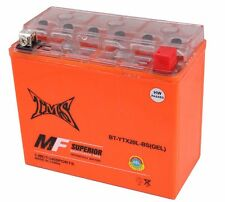YTX20L Battery for Yamaha YFM 400 450 Kodiak Big Bear Wolverine 660 700 Grizzly