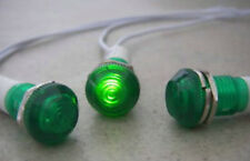 6pcs, Green Led Indicator Dash Pilot Light 230V,10G