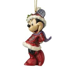 Disney Sugar Coated Minnie Mouse Hanging Figurine Christmas Decoration A28240
