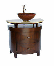 "32"" Onyx Counter Top Verdana Vessel Sink Bathroom sink vanity  -  #"